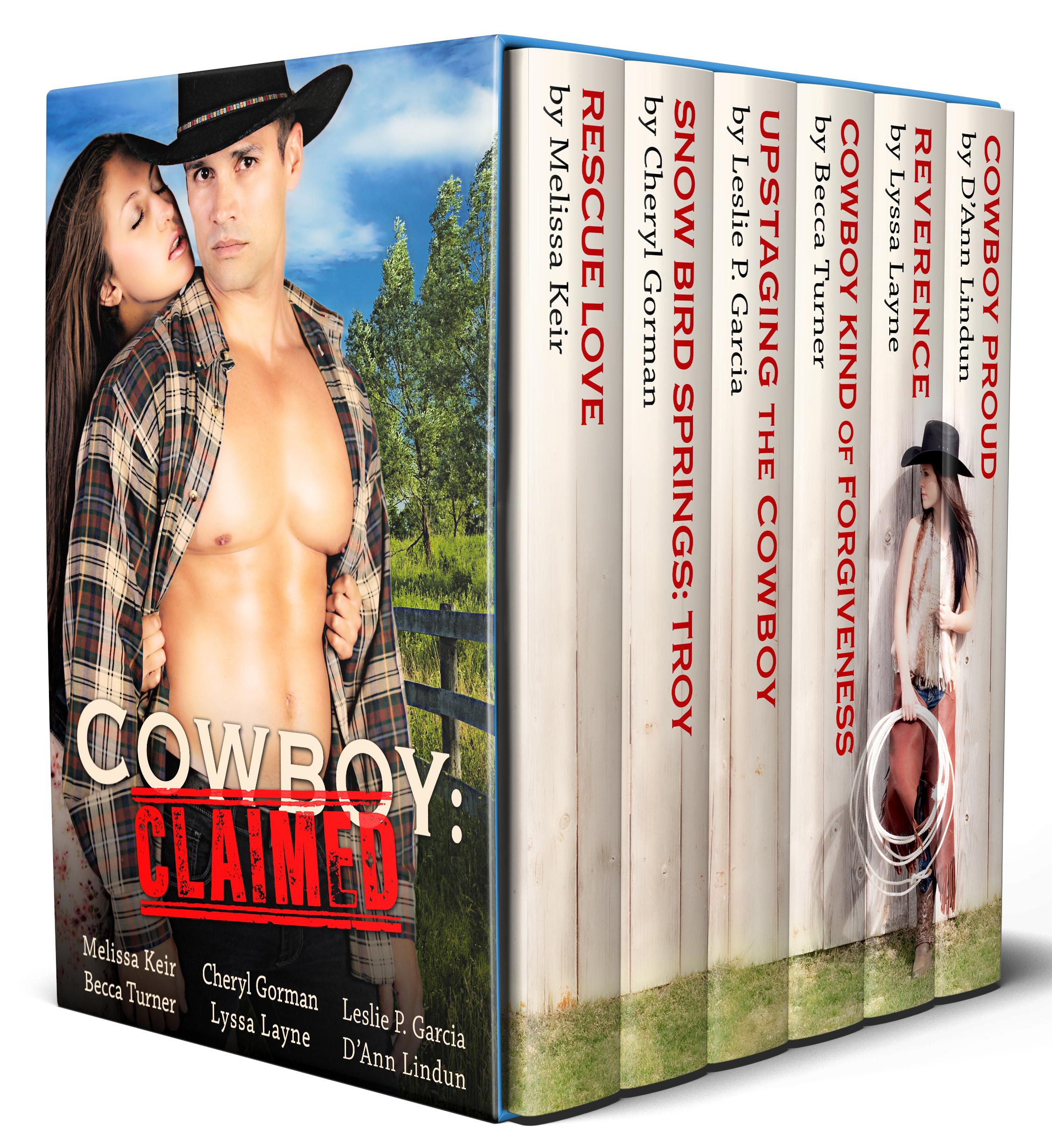 Cowboy claimes Book Cover